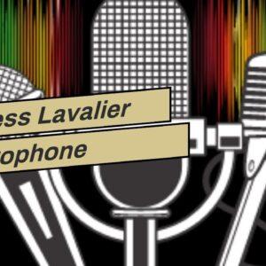 Wireless Lavalier Microphone System, COMICA BoomX-U2 48-Channels UHF Wireless Lapel Clip-on Mic...