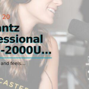 Marantz Professional MPM-2000U  Large Diaphragm Studio Quality USB Condenser Microphone For Po...