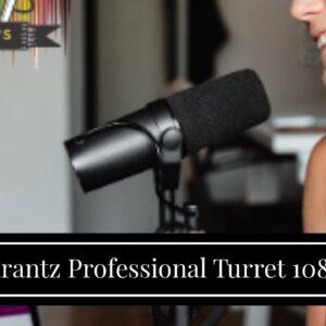 Marantz Professional Turret 1080p Broadcast & Podcast Video System, Video Calling Digital Webca...