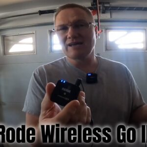 Rode Wireless Go II Quick Demonstration for Dual Microphone Needs Like Podcast Interviews