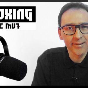 MICROFONE PARA O SEU PODCAST - UNBOXING  MV7 Podcast Microphone (Shure)