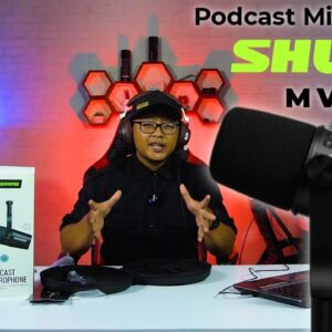 Microphone Podcast Terbaik | Unboxing & Review SHURE MV7 Indonesia