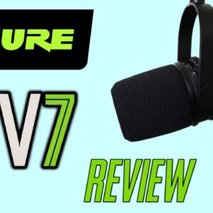Shure MV7 Podcast Mic Review - THE BEST VALUE-FOR-MONEY MIC YOU CAN BUY! 🎙🔥💪💯