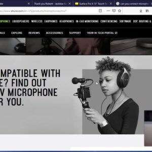 Shure mv7 mic review - Awesome Usb Podcast microphone!