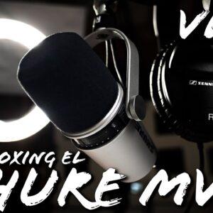 Unboxing el INCREIBLE Shure MV7 Podcast Mic.