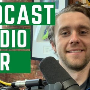 Podcast Studio TOUR - What Equipment, Cameras, Lighting and Podcasting set up do we have??