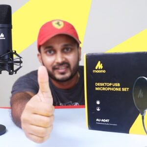 Best Budget Microphone | Maono AU-04 (Podcast/Gaming/Voice over)