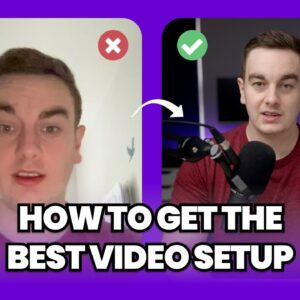 Best Video Podcast Setup for Recording