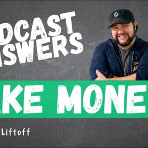 How Can I Make Money Podcasting? (Podcast Answers) #shorts