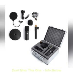 MAONO A04TC USB Microphone Kit 192KHZ/24BIT Professional Condenser Microfono Podcast Streaming Mic