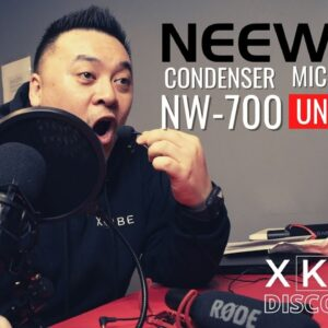 Neewer NW-700 Professional Condenser Microphone vs Rode VideoMic vs FIFINE Wireless Lavalier Lapel