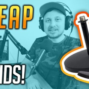 Best Cheap Desktop Mic Stands for Podcasting & Live Streaming (InnoGear Scissor Arm Review)