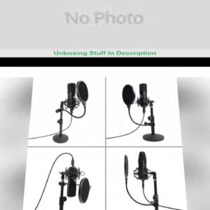 Product Usb Microphone Kits Pc Condenser Podcast Streaming Microphone 192khz/24bit Karaoke Mic For