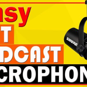 Podcast Microphone for Podcasting, Recording, Live Streaming & Gaming 2021