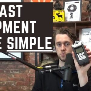 Podcasting Equipment FOR BEGGINERS - Podcast Microphones made SIMPLE!