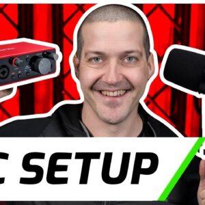 Shure MV7 & Scarlett 2i2 | Setup & Demo