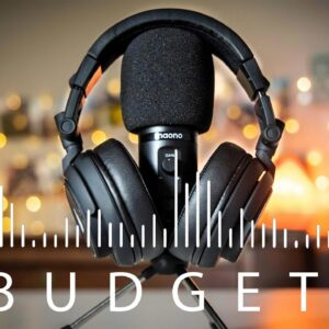 The Best BUDGET Podcasting Setup in 2021 - Maono Microphone and Headset Review