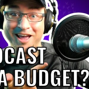 Best PODCAST GEAR For BEGINNERS on a BUDGET in 2021? Unboxing My New Setup