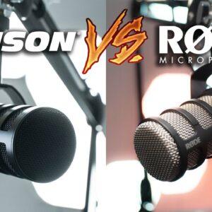 The New Best Podcasting Mic? | Samson Q9U vs Rode Podmic