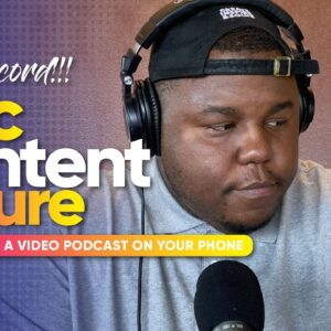Video Podcast Setup with iPhone | EPIC FAIL