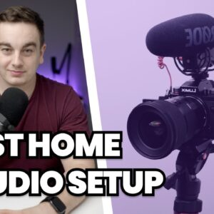 Best Home Studio Setup for Recording Podcasts & YouTube Videos