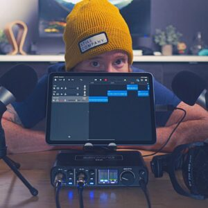 How to Podcast with Multiple Microphones on your iPad | Setup