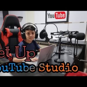 Setup Podcast Studio Youtube ||Abyan Labatjo