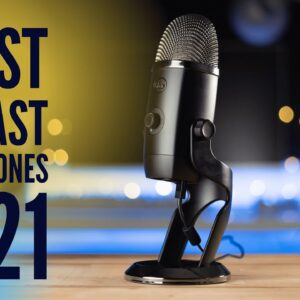 Top 5 Best Podcast Microphones In 2021 | For Every Budget & Level!