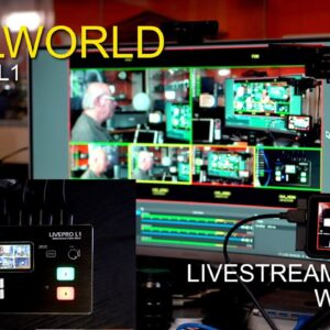 Feelworld Livepro L1 Live-streaming HDMI Switcher - My set-up for using it with OBS for streaming.