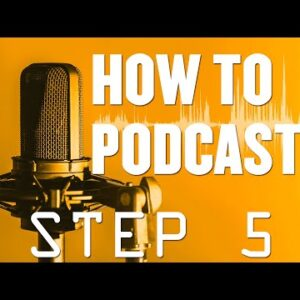 How To Podcast Step By Step Guide 5 of 16 - Contact Email   Voicemail Service