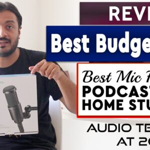 Best Budget Mic for Podcast & Home Studio? | Audio Technica AT2020 Review | Pickachord