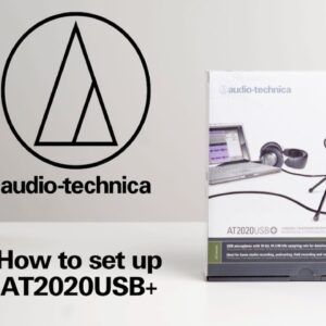 How to set up the AT2020USB+ | USB Streaming Microphone