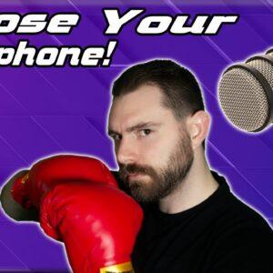 Best $100 Mic showdown! Rode PodMic vs Audio Technica AT2020 (Dynamic vs Condenser)