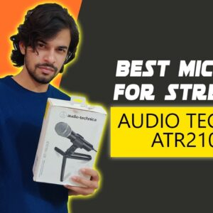 Best Mic Under 8000 For Gaming & Podcasting | Audio Technica ATR2100x Full Review (Hindi)