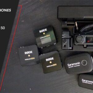 Wireless Mics compared - HollyLand Lark 150, Rode Go II & Saramonic Blink 500