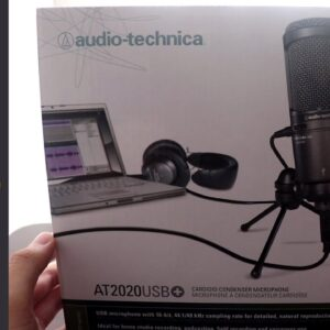 Unboxing dan Review Microphone Audio Technica AT2020 USB+ Microphone yang wow banget