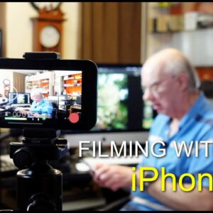 Filming with the iphone 12 - my initial impressions video.