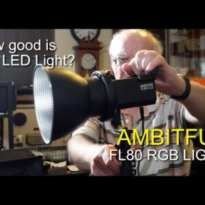 AMBITFUL FL80 80W 5600K LED Video Light - How good is this light?