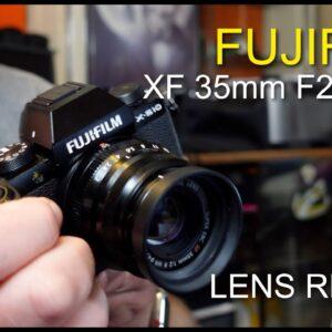 Fujifilm XF35mm R WR Lens Review