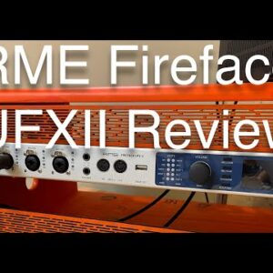 Podcasting Equipment Review: RME Fireface UFX II and Nice Racks Equipment Rack