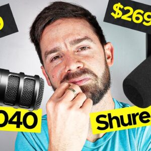 What Is The Best Podcast Mic? Shure MV7 vs Audio-Technica AT2040 | Sound Test, Unboxing, and Review