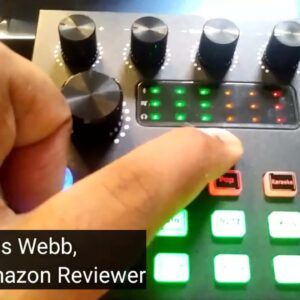 Podcast Equipment Bundle, Live Streaming Audio Interface with DJ Mixer ALL IN ONE Sound Mixer Review
