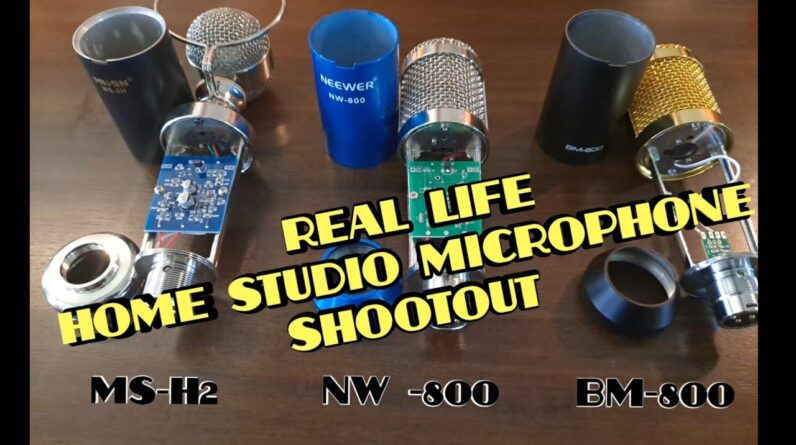 Best Budget Podcast Microphone  ? NW-800  vs  BM-800  vs  MS-H2