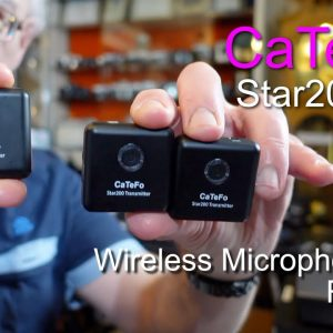 CaTeFo Star200 T2 Wireless Ultracompact 2.4GHz Microphone Kit - Review