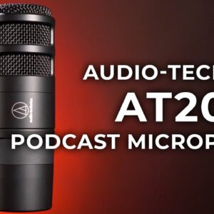 Audio-Technica AT2040 Hypercardioid Dynamic Podcast Microphone | Hands-on Review