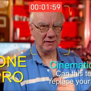 iPhone 13 Pro - Cinematic Mode - Can this technology replace your cinema camera?