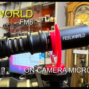 Feelworld FM8 'on camera' Microphone Review.