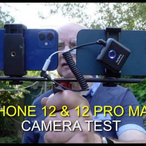 iPhone 12 Pro Max & iPhone 12 Camera Test - side by side comparison.