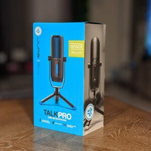 JLab Talk Pro Type C USB Microphone! 192kHz of podcast goodness!