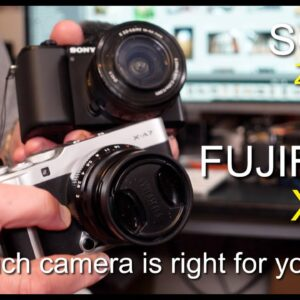Sony ZV-E10 or Fujifilm X-A7 - which camera is right for you?